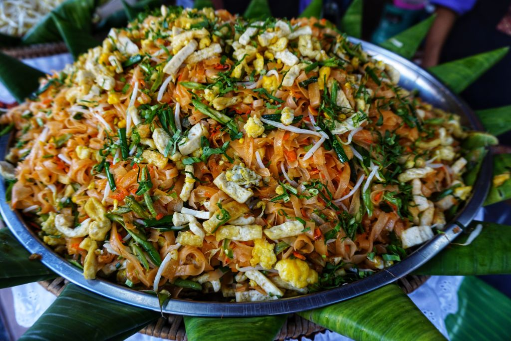 Pad Thai is a popular street food dish across Thailand and it's on every menu in Thai restaurants. It is also the most famous Thai food dish outside of Thailand.
