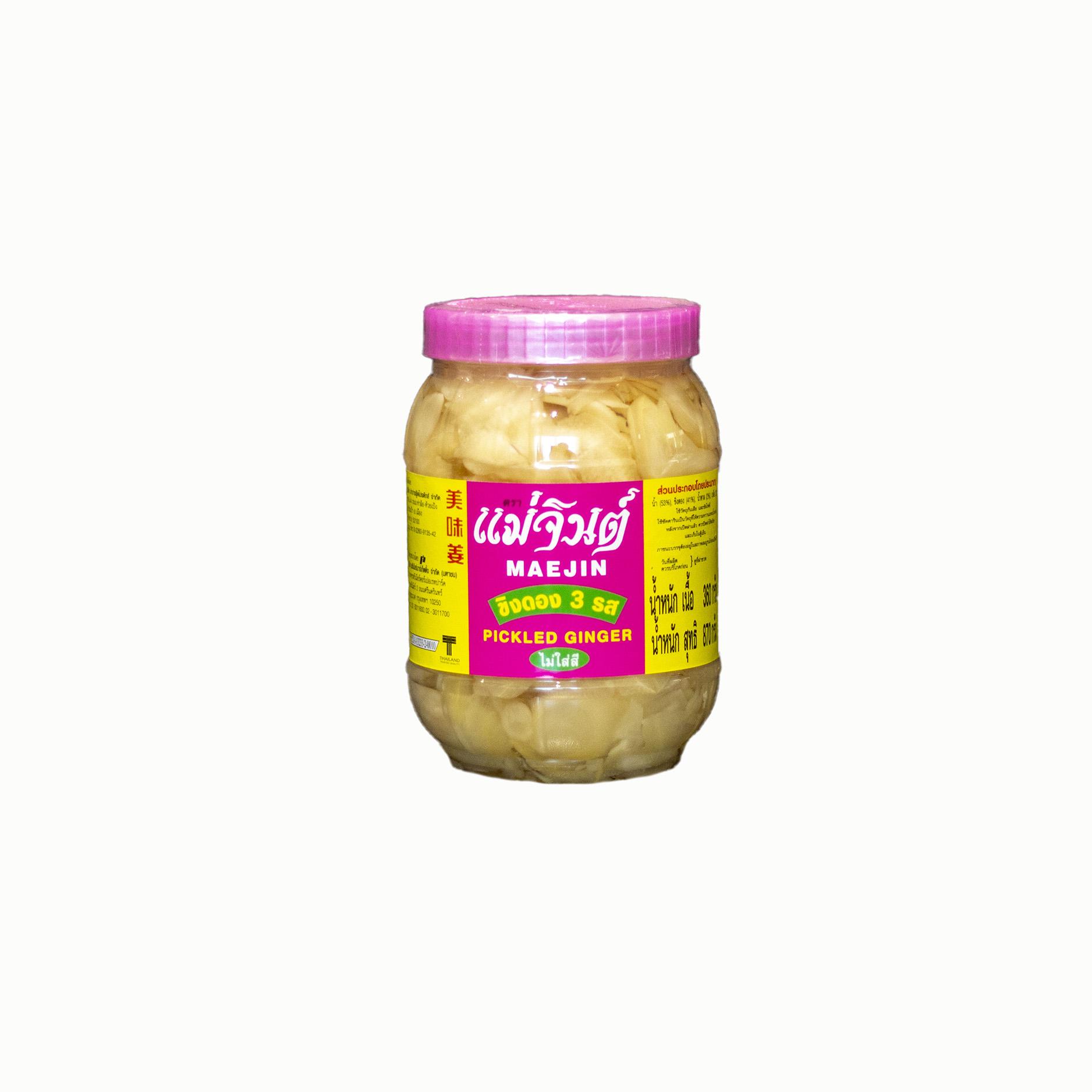 Maejin Pickled Ginger 870g 360g Dry Maxi International